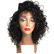 TOP!!! Short Natural Black Color Bob Afro Curly Lace Front Wigs Heat Resistant Synthetic Hair Wigs For Women