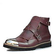 Men's Shoes Leather Party & Evening / Casual Boots Party & Evening
