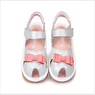 Obuv dívčí-Outdoor / Běžné-Pohodlné / Sandály-Kůže-Sandály-Bílá / Kůže