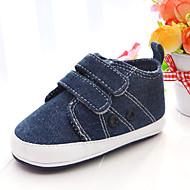 Chaussures bébé-Bleu-Extérieure / Décontracté / Travaille-Toile / Tissu-Ballerines