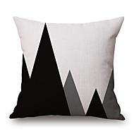Bomull/Linne Örngott,Geometrisk / Grafiska tryck Modern / casual