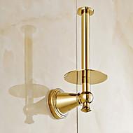 WC-Rollenhalter / Ti-PVD / Wandmontage /4.3*3.15*7.9 inch /Messing /Modern /11cm 8cm 0.4