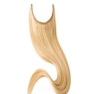 להעיף צבע הטבעי צבע בלונדיני חם מכירה בתוספות שיער שיער חלק חבילות שיער ברזילאית בתולה במלאי