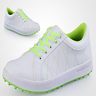 Men's Shoes Microfibre Athletic Shoes Golf Others / Lace-up Blue / Yellow / Pink / White