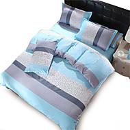 4PC Duvet Cover Sets Polyester Floral Pattern
