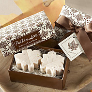 Maple Leaf Shape Love Soap Favor for Wedding Gift