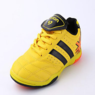 Boy's Athletic Shoes Styles PVC Lace-up Blue / Yellow / Green / Orange Soccer