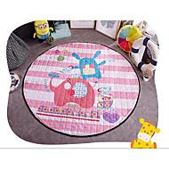 bomuld strikket cirkulære pad quiltning måtter indeholder tatami barn kravler pad picnic mat