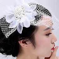 נשים ריינסטון / טול / רשת כיסוי ראש-חתונה / אירוע מיוחד / קז'ואל / חוץ קישוטי שיער חלק 1