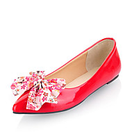 Women's Flats Spring / Summer / Fall / Winter Pointed Toe / Comfort / Ballerina Patent Leather Office & Career / Casual / Dress Flat Heel
