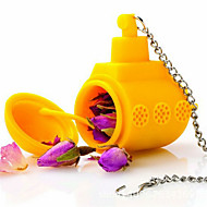 1kpl tee sub keltainen sukellusvene irtolehti kasviperäisten mauste infuser silikoni mauste