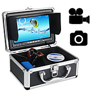 """30m Infared LED cam Fish Finder Underwater Fishing Video Camera 7"""" Color HD Monitor 1000TVL HD CAM"""