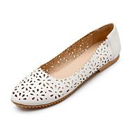 Черный Синий Розовый Белый-Женский-Для праздника Повседневный-Дерматин-На плоской подошве-Удобная обувь