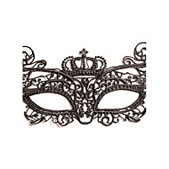 Dame Blonde Medaljon-Bryllup / Speciel Lejlighed Masker 1 Stykke