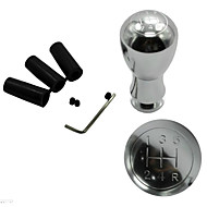autóipari kellékek ezüst fém fogaskerekek shift gombok