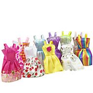 lány dressup Gyerek meleg ruházat kiegészítők tépőzáras szoknya mini szoknya (10 készlet)
