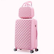 Unisex PVC Outdoor Luggage Pink / Purple / Blue / Green / Yellow / Red