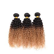 Ombre Włosy indyjskie perwersyjne 3 elementy sploty włosów