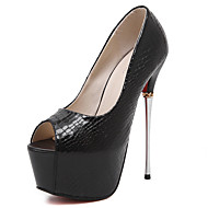 Women's Sandals Summer Sandals / Open Toe Glitter Dress Stiletto Heel Sequin Black / Silver Others