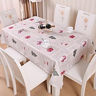 Waterproof And Oil Polyester Tablecloth Table Cloth