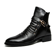 Men Genuine Leather Boots Snow Boots