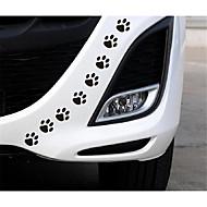 die Welpen Aufkleber Fußspuren Auto dekorative Sticker Auto dekorative Block Kratzer Kratzer Aufkleber decken Persönlichkeit