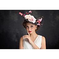 Women's Flax / Net Headpiece-Special Occasion Fascinators 1 Piece