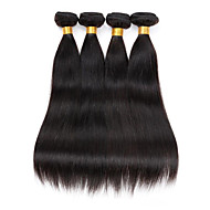 3 Pièces Droit (Straight) Tissages de cheveux humains Cheveux Péruviens Tissages de cheveux humains Droit (Straight)