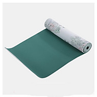 PVC Yoga Mats Eco Friendly Libre de Olores 3.5 mm Verde