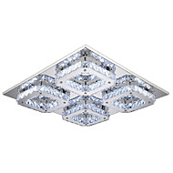 32 Flush Mount ,  Modern/Contemporary Electroplated Feature for LED Metal Bedroom Dining Room Hallway