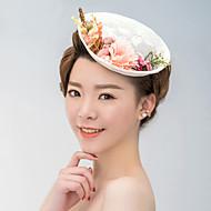 여성 사틴 / 레이스 투구-웨딩 / 특별한날 파시네이터 / 모자 1개