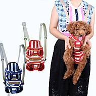 Γάτα Σκύλος Αντικείμενα μεταφοράς & Σακίδια ταξιδίου πλάτης Εμπρός σακίδιο Κατοικίδια Αντικείμενα μεταφοράς Φορητό Αναπνέει ΡιγέΚόκκινο