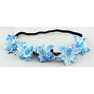 Women's Fabric Headpiece-Wedding Wreaths 1 Piece Flower 50cm