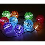 водонепроницаемый 3m 10LED солнечный фонарик рождества света шнура СИД