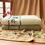 High-grade Bamboo Fiber Discontinuity Jacquard Towel