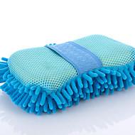 bil rengjøring svamp vask med svamp dekontaminering loddetinn-dimensjonale koraller fløyel spesiell