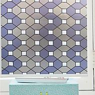 Okno Film obtisky styl kreativní geometrie obrazu okno matná PVC fólie - (100 x 45) cm