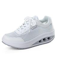 Dame-Tyll-Flat hæl-Komfort-Sneakers-Sport-Svart / Grønn / Rosa / Hvit / Grå