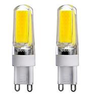 4W G9 Luminárias de LED  Duplo-Pin T 1 COB 300-450 lm Branco Quente / Branco Frio / Branco Natural Regulável / DecorativaAC 220-240 / AC