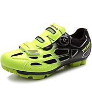 Unisex Athletic Shoes Spring/Summer/Fall/ Winter Comfort Tulle Outdoor / Athletic Flat HeelYellow/Green/Silver Cycling