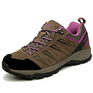 Women's Athletic Shoes Winter Comfort Leather Outdoor / Athletic Flat Heel Others Gray / Khaki Hiking / Trail Running