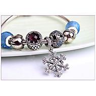 Chain Bracelets / Strand Bracelets 1pc,Blue Bracelet Vintage Circle 514 Sterling Silver Jewellery