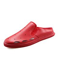 Lapos-Lapos-Női cipő-Lapos-Alkalmi-PU-Fekete / Piros / Fehér