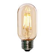 4W E27 στυλ T45 Edison αντίκες οδήγησε λάμπα πυρακτώσεως σωληνοειδή φωτός (220-240V)