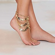 Anklet/Bracelet Others Unique Design Bohemia Style Fashion Alloy Gold Plated Gold Women's Jewelry 1pc