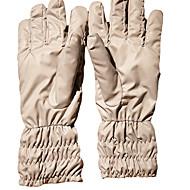 Winter Gloves Unisex Keep Warm Ski & Snowboard / Snowboarding White Canvas Free Size
