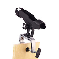 1 Packed HiUmi Fishing Boat Rods Holder with Large Clamp Opening 360 Degree Adjustable Rack Rod Holder