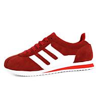 Sneakers-StofHerre-Blå Rød Grå-Fritid Sport-Flad hæl