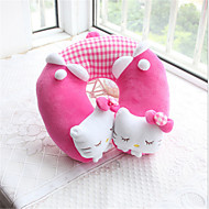 Kitty  Type Pillow Cartoon Plush Travel Pillow