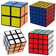 Shengshou® Smooth Speed Cube 2*2*2 / 3*3*3 / 4*4*4 / 5*5*5 Snelheid Magische kubussen Zwart Fade PVC